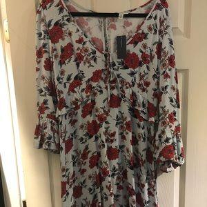 American Eagle Floral Dress - Size L Long